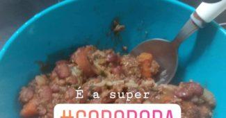 receita de gororoba com feijão vermelho