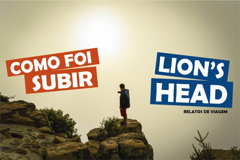 Lion's Head a trilha da incrível montanha de Cape Town