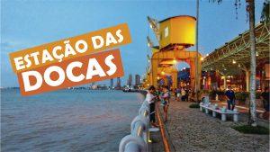 uma-das-experiencias incríveis em Belém do Para: Anoitecer na Estação das Docas