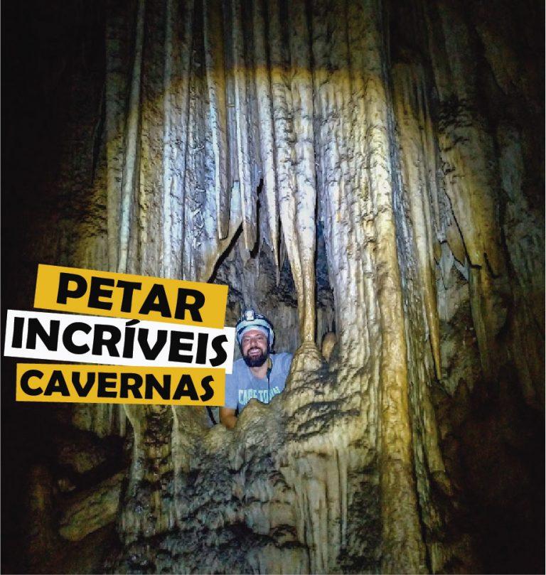 As cavernas de PETAR (Parque Estadual do Alto do Ribeiro)