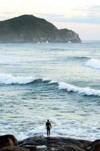 O Primeiro Surfista da Praia do Rosa