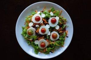 Deliciosa Salada em Fotografia de Alimentos