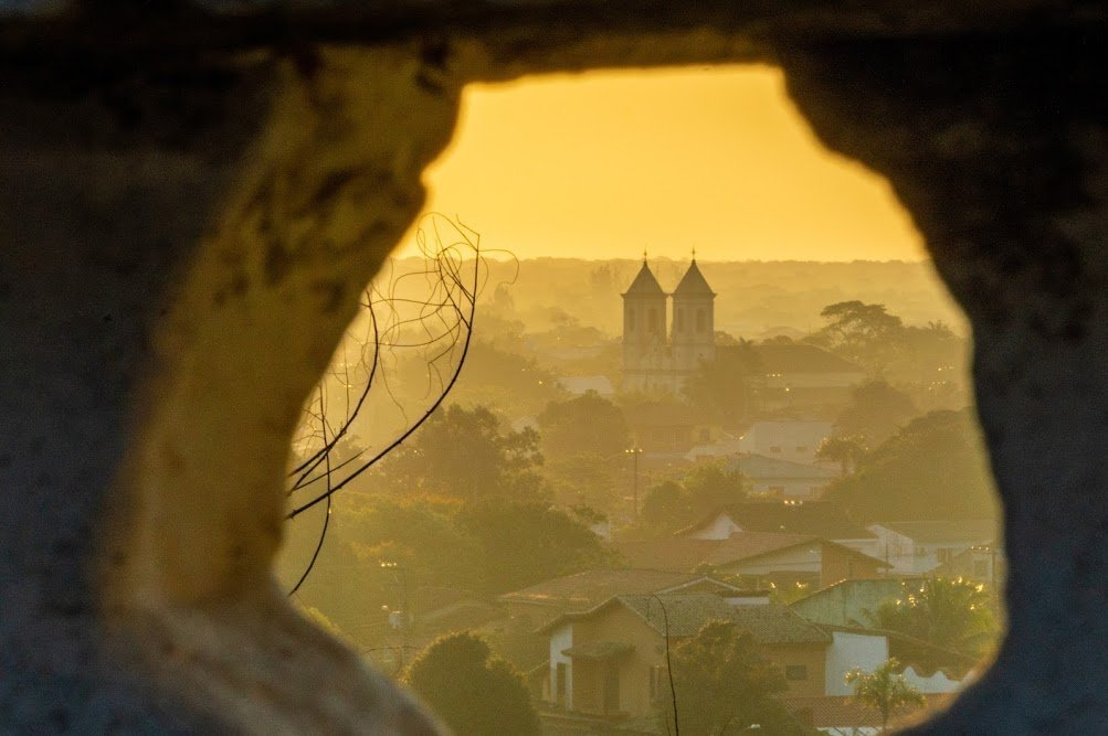 Por do Sol em Iguape