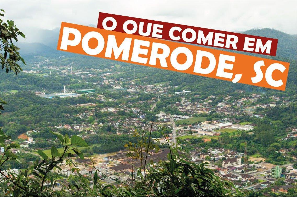 o que comer em Pomerode, Santa Catarina
