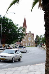O transporte em Windhoek, na Capital da Namíbia