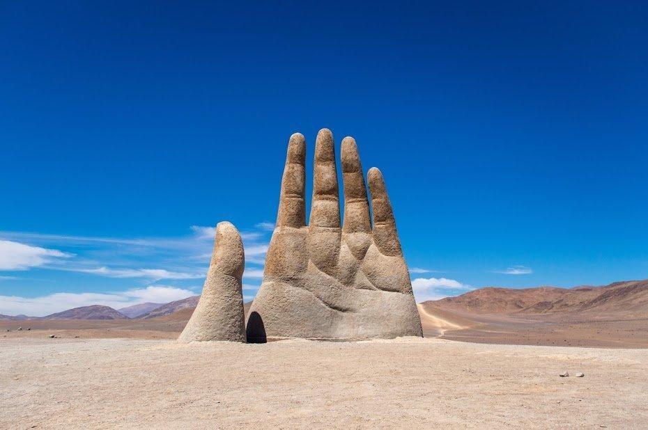 A mão do deserto - Atacama, Chile