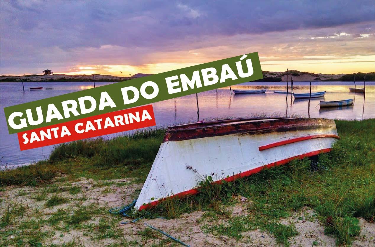 Guarda do Embaú, litoral de Santa Catarina