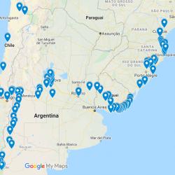 Viagem de Moto passando pelo Uruguai, Argentina e Chile