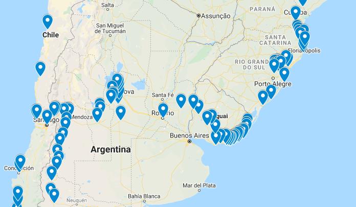 Viagem de Moto passando por Uruguai, Argentina e Chile