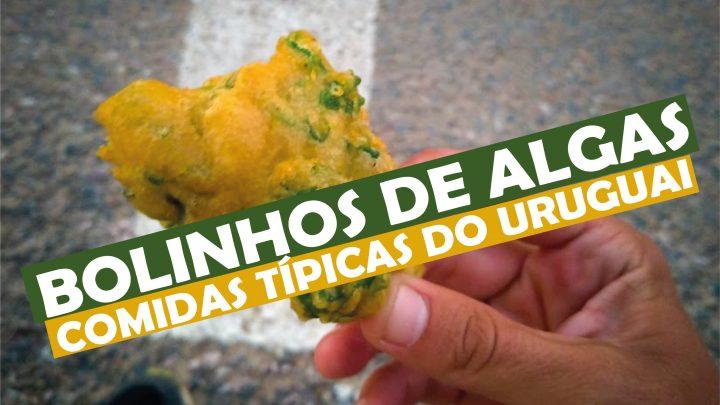 Bolinhos de Algas Uruguaios - Comidas Típicas do Uruguai