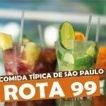 Rota 99 Petiscaria e Cervejaria - Comidas Típicas de São Paulo