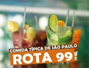 Rota 99 Petiscaria e Cervejaria – Comidas Típicas de São Paulo