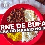 Carne de Búfalo na Ilha do Marajó, no Pará