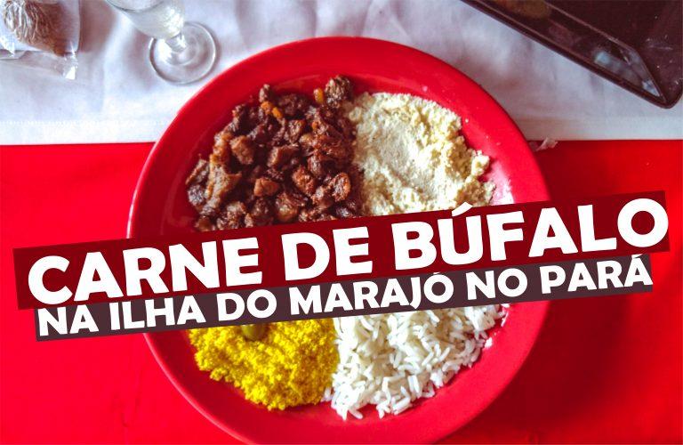 Carne de Búfalo na Ilha do Marajó no Pará