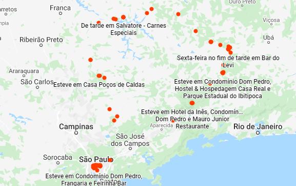 Rota viagem de moto por Minas Gerais