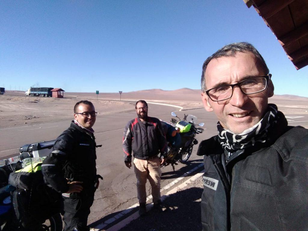 A volta do Atacama a Santiago por conta do Covid