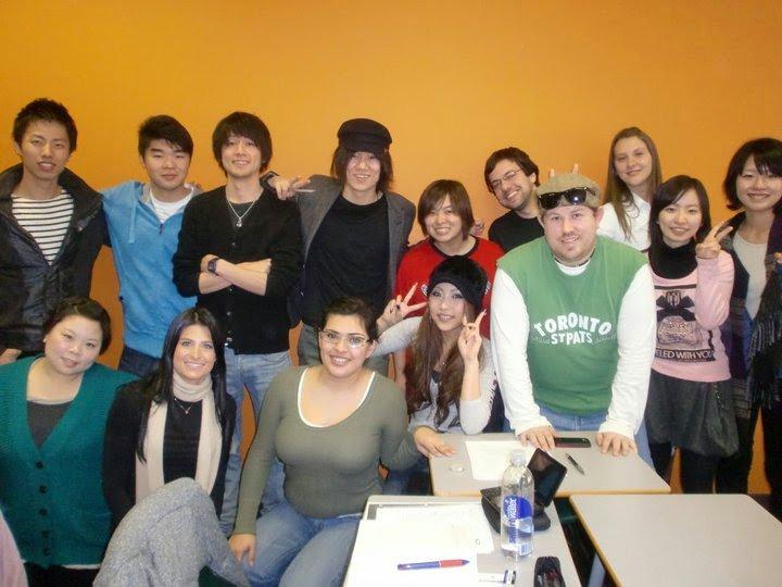 Diferentes nacionalidades nas escolas de ingles em Toronto